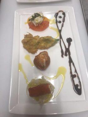 Fried italian platter